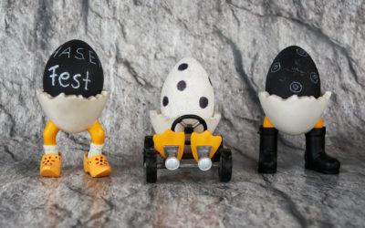Kreative Ideen für das Osterei