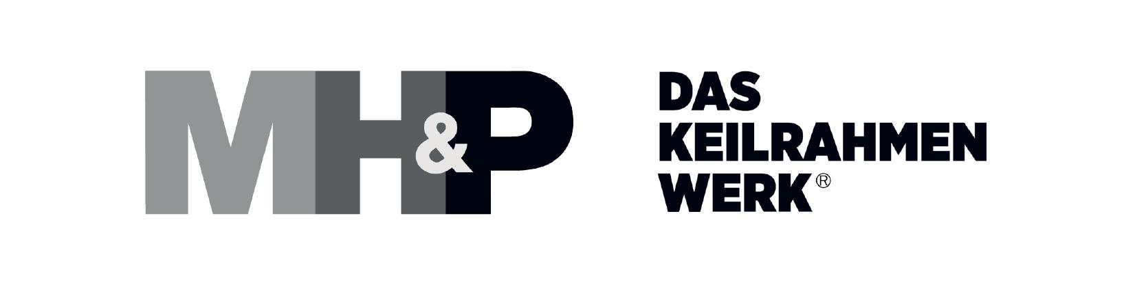 mh&p Logo - Lieferant unseres Bastelladen in Lohne